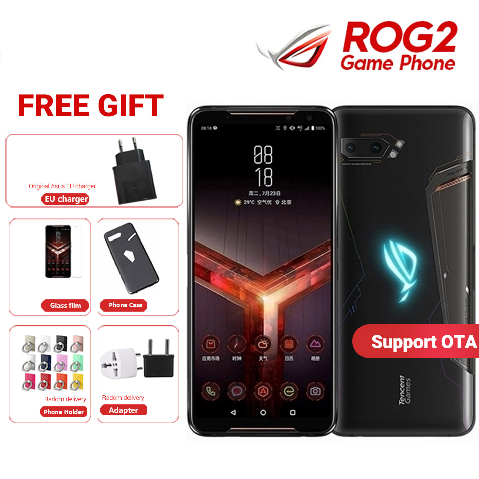 Global ROM Asus ROG Phone 2 Gaming Phone ROG Phone II ZS660KL 6.59