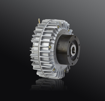 Shell Rotating Magnetic Powder Clutch Magnetic Powder Brake External Rotating Hollow Clutch Tension Winding Motor 24v