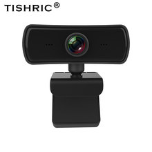 TISHRIC 2K 4 Million Pixels Webcam 1080p Web Cam Web Camera With Microphone Camara Web Para Pc For Live Broadcast Video Calling