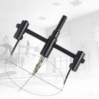 Einstellbare metall holz rund loch sah bohrer cutter DIY-tool-kit 30mm-120mm schwarz legierung klinge 30mm-200mm 30mm-300mm