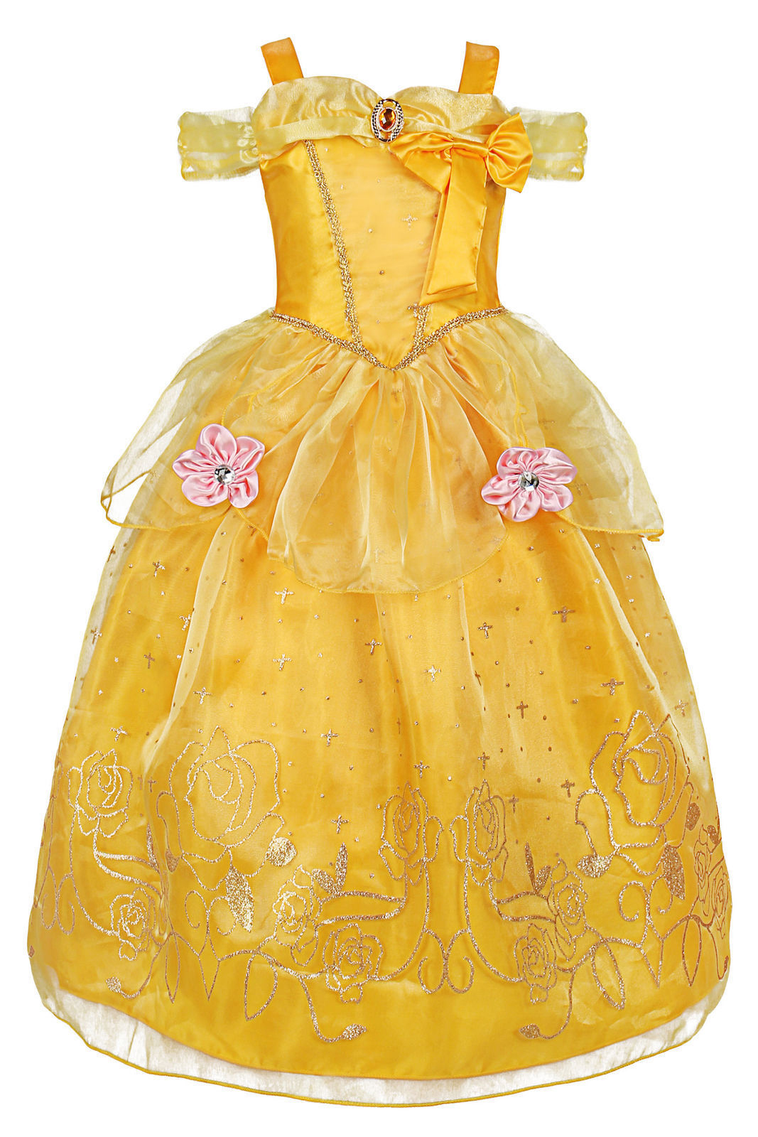 Hc339f6284b1e481dacfa1fa57da38bbdh - Fancy Baby Girl Princess Clothes Kid Jasmine Rapunzel Aurora Belle Ariel Cosplay Costume Child Elsa Anna Elena Sofia Party Dress