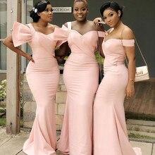 Dress Bridesmaid-Dress Sweetheart Satin Sleeveless Custom Elastic