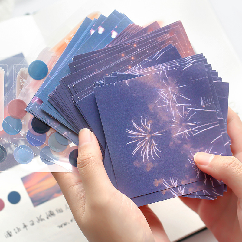 40 Sheets Love And Freedom Series Memo Pad Creative Planner Material Journal Note Pad Memo Sheets School Supplies No Stickiness