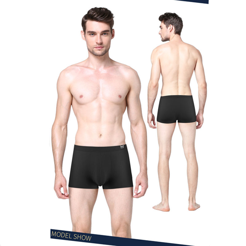 cheapest New Xiaomi Mijia seamless ice silk underwear for men Quick-drying silky 3D men s boxer Breathable Cool Elasticity Men Panties