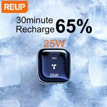 REUP cargador USB de carga rápida 3,0 para móvil, adaptador de teléfono para Huawei Mate 30, cargador móvil de pared portátil