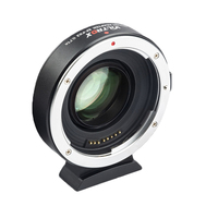 VILTROX EF FX2 Auto Focus Lens Mount Adapter Ring for Canon EF EF S Lens to for Fuji X Mount Mirrorless Cameras X T1 X T2 Etc