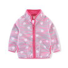 Coat Outwear Long-Sleeve Girls Boys Kids Cartoon Cute Ircomll for Fleece Pattern Jacket