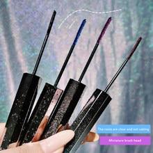 4 kolory Mascara 4D jedwabiste rzęsy długotrwałe wodoodporne wydłużenie tusz do rzęs objętość niebieskie oko kosmetyki kosmetyczne TSLM2