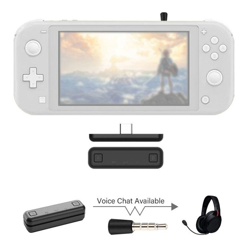 Für Nintendo Schalter für Schalter Lite PS4 PC Original GuliKit Typ C NS07 Route Air Wireless Audio Adapter Bluetooth Sender