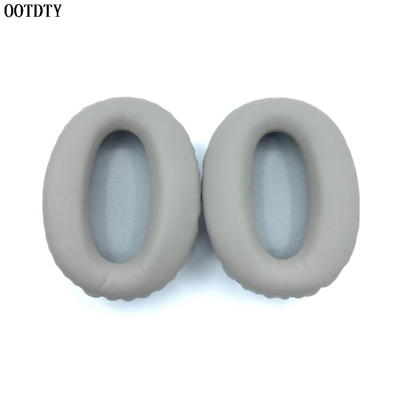 Replacement Ear Pads Ear Cushion For SONY <font><b>MDR</b></font>-<font><b>1000X</b></font> <font><b>MDR</b></font> <font><b>1000X</b></font> WH-1000XM2 Headphones Soft Protein Leather Earpads image