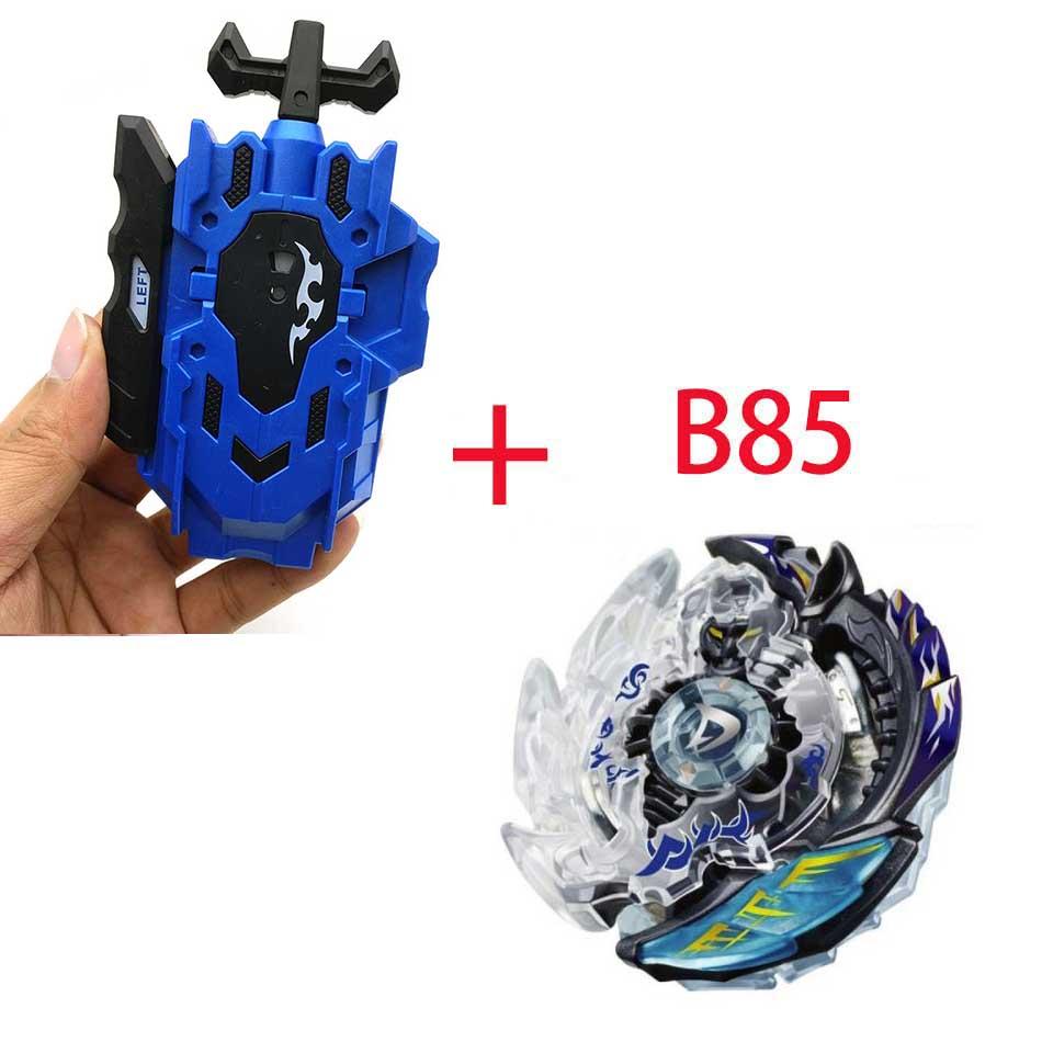 Волчок Beyblade BURST B-130 B-117 с пусковым устройством Bayblade Bay blade металл пластик Fusion 4D Подарочные игрушки для детей - Цвет: B85