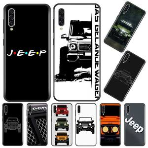 Super Jeeps Car Logo Painted Phone Case For Samsung Galaxy A 3 6 7 8 10 20 30 40 50 70 71 10S 20S 30S 50S PLUS