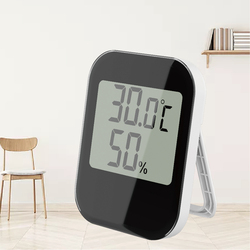 Electronic Room Thermometer Hygrometer  Digital home Temperature Measuring Instrument Humidity display Meter battery operated