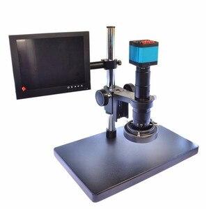 HAYEAR 14MP HDMI HD USB цифровой промышленность видео микроскоп Камера с 8 дюймов ЖК-дисплей Экран HDMI USB2.0 два Выход