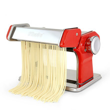 Noodle Maker Machine Stainless Steel  Manual Cutting  0.5-2.5mm Adjustable Thickness Dough Fresh Pasta Making For Kitchen Tool цена и фото