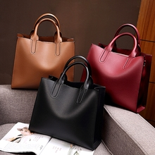 Split Leather Shoulder Bags for Women 2019 High Quality Luxury Handbags Messenge