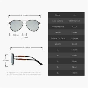Image 4 - MUSELIFE 2020 Polarized series Men Driving Sunglasses Men And Women Coating Mirror vintage Luxury Glasses  Male Eyewear Accessor