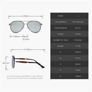 Image 4 - MUSELIFE 2020 الاستقطاب سلسلة الرجال القيادة النظارات الشمسية الرجال والنساء طلاء مرآة vintage نظارات فاخرة الذكور نظارات اكسسوارات