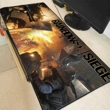 Mairuige 90X40CM Free Shipping Rainbow Six Siege Mouse Pad To Notbook Computer Speed Mousepad Lock Edge Big Gaming