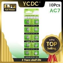 YCDC – pile bouton de montre, 10 pièces, 1.5V 395 SR927SW 399 SR927W LR927 LR927W SP395 SR927 610 AG7