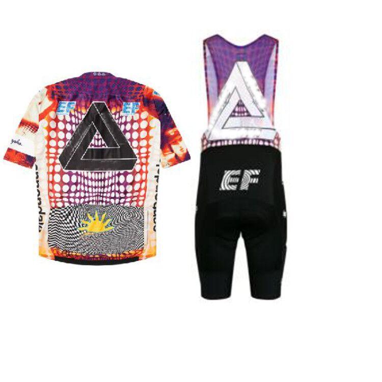 Итальянская футболка с коротким рукавом EF Education First Professional для езды на велосипеде, летние шорты с электрическим ремешком, мужская одежда 2020