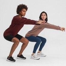NWT/ночное белье для женщин на открытом воздухе спортивный свитер с длинными рукавами Йога свободный покрой тренажерный зал Фитнес атлетиче...