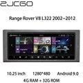 Автомобильный мультимедийный плеер стерео GPS DVD Радио Навигация Android для Land Rover Range Rover V8 L322 2002 ~ 2012