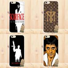 Perciron Für Apple iPhone X 4 4S 5 5C SE 6 6S 7 8 Plus Für LG G3 g4 G5 G6 K4 K7 K8 K10 V10 V20 Weichen Capa Abdeckung Fall Scarface(China)