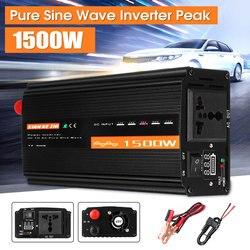 1500W Reine Sinus Welle Inverter DC12V/24 V/48 V Zu AC220V 50HZ Stromrichter Booster für Auto Inverter Haushalt DIY
