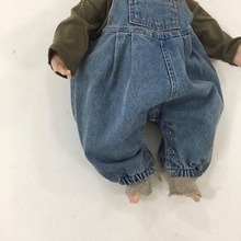 Jumpsuits Baby Overalls Rompers Boys Newborn Cute Denim Spring Infant Girls