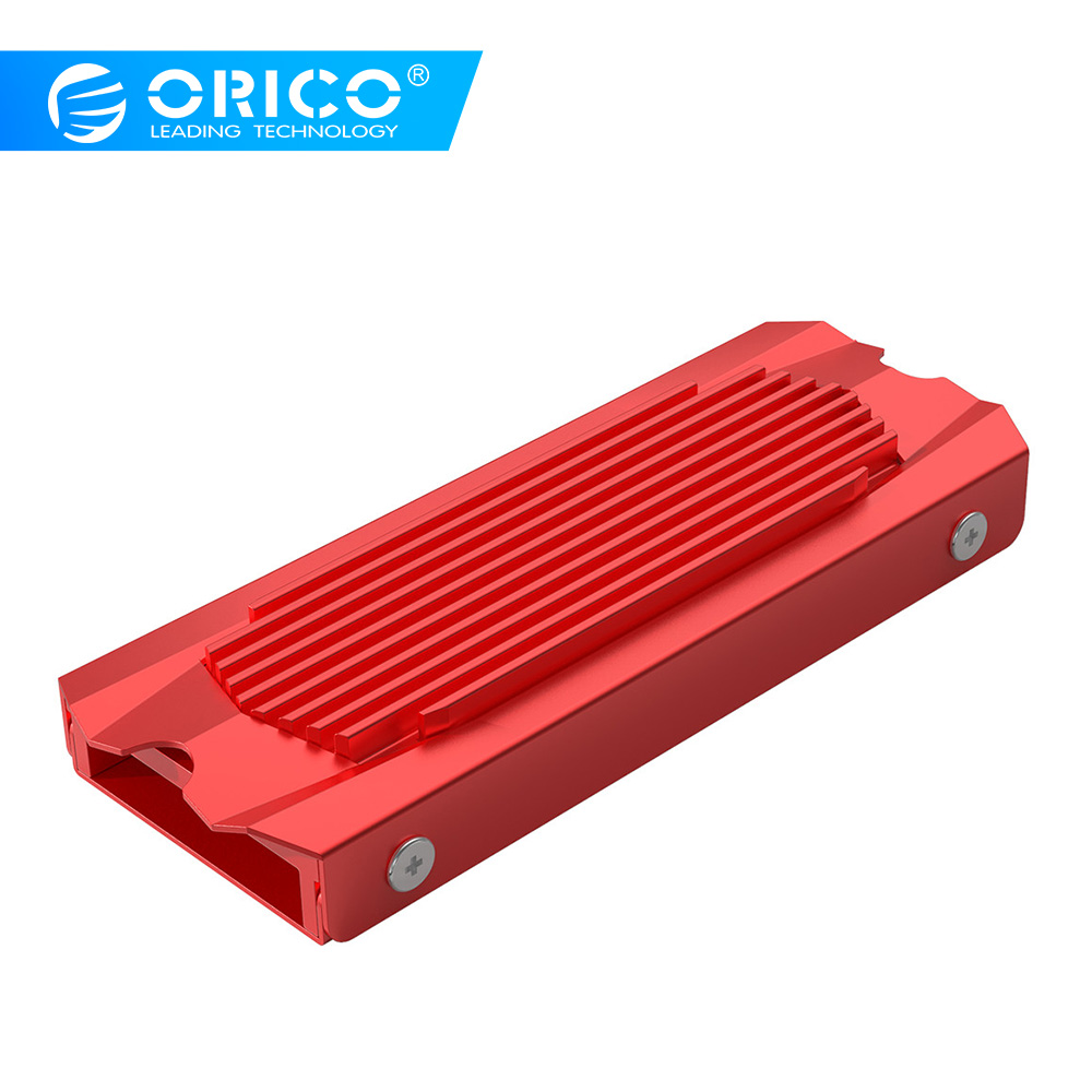 ORICO SSD Heat Dissipation Radiator Aluminum Heatsink Cooling Heat Sink For M.2 NGFF PCI-E NVME 2280 SSD Heatsink Cooler