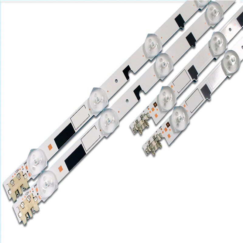 (New Kit)14 PCS LED Strip For Samsung UE40F6400 D2GE-400SCA-R3 D2GE-400SCB-R3 2013SVS40F L8 R 5 BN96-25520A 25521A 25304A 25305A