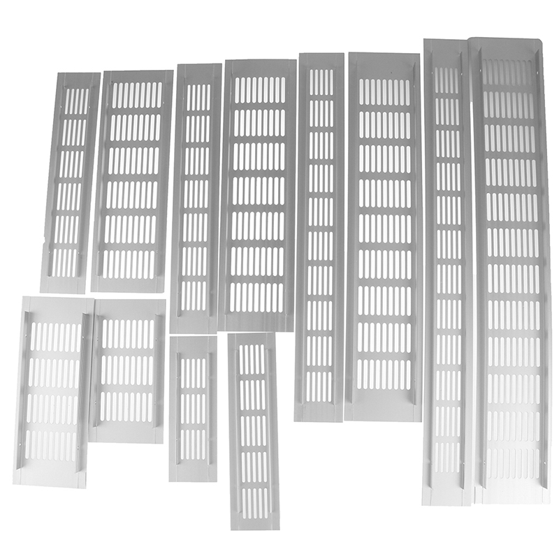New Useful Vents Perforated Sheet Aluminum Alloy Air Vent Perforated Sheet Web Plate Ventilation Grille Vents Perforated Sheet