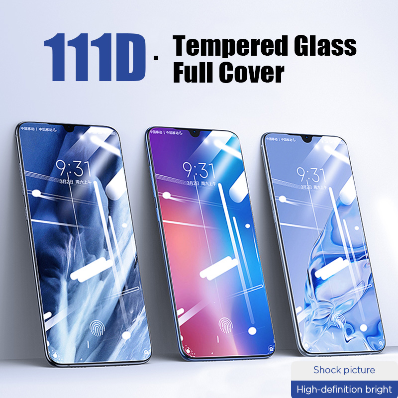 111D Protective Glass For Redmi 7A 6A 5A 5 Plus Screen Protector Tempered Glass For Xiaomi Redmi Note 7 6 5 Pro S2 Safety Film