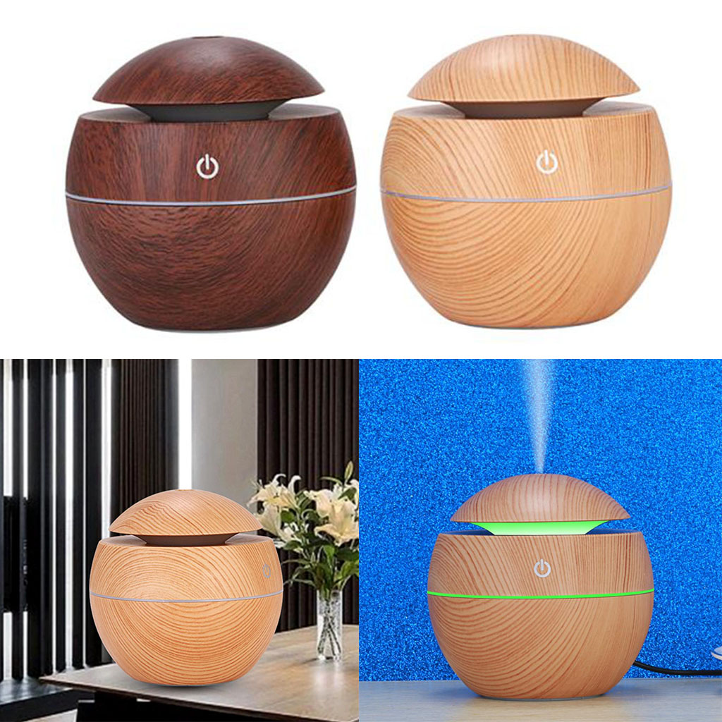 Aromatherapy Mini Oil Diffuser Humidifier, Travel Small Aroma Difusers For Essential Oils For Home Office Car