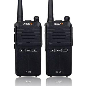 Image 2 - 2PCS Handheld Walkie Talkie 8W High Power UHF Handheld Two Way Ham Radio Communicator HF Transceiver Amateur Handy