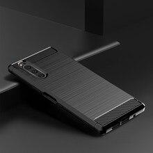 Чехол для Sony Xperia 5 II III, Силиконовый прочный бронированный мягкий чехол, чехол для телефона Sony Xperia5 Xperia 5 II III, чехлы, оболочка
