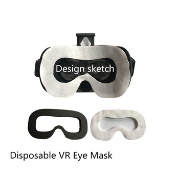 100Pcs Soft Eye Mask Virtual Reality VR Glasses Face Disposable for HTC for VIVE