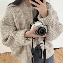Women's Sweaters Cardigans Tops Knitwears Oversize Elegant Korean Winter New Autumn Mozuleva