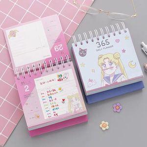 Image 4 - 2020 Sailor Moon 365 Dagen Kalender Meisjes Blauw Kawaii Accessoires Anime Sailor Moon Tsukino Usagi Prinses Serenity Cosplay Gift