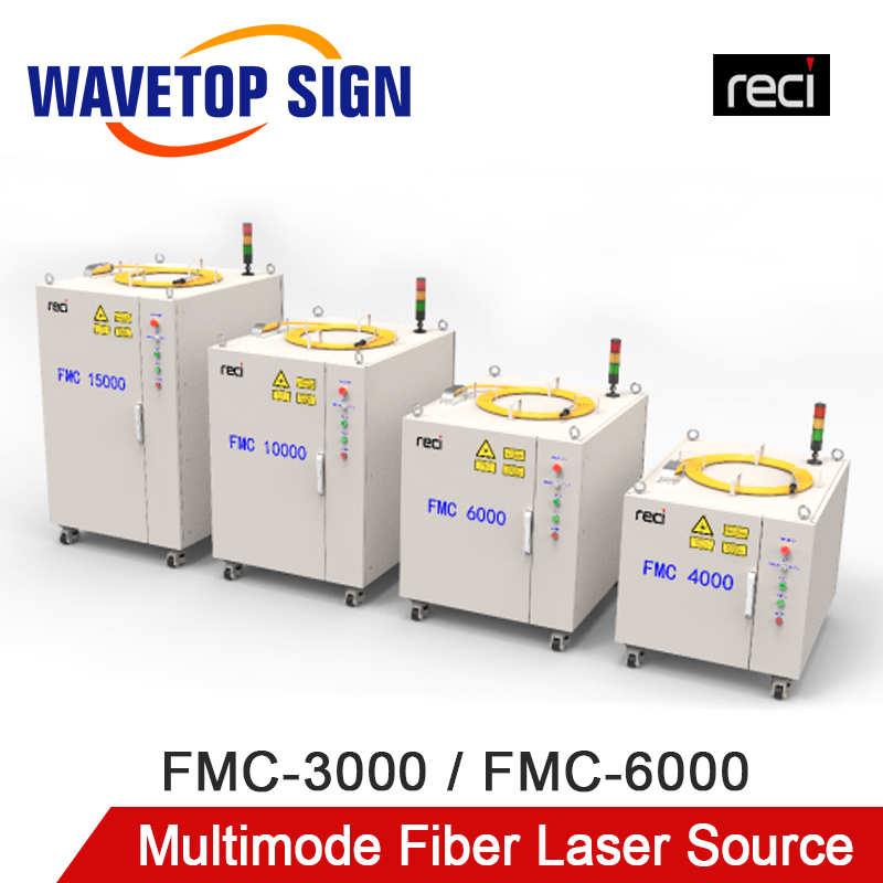 RECI High-Power Multimode Fiber Laser Source FMC-3000 FMC-6000 Laser Module
