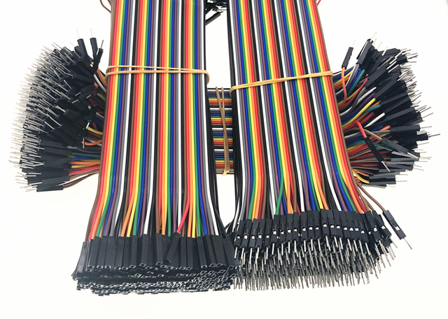 40-120pcs Dupont Line 10CM 40Pin Male to Male + Male to Female and Female to Female Jumper Wire Dupont Cable for Arduino DIY KIT 1