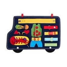 Игрушка Монтессори для малышей Обучающие Детские Младенцы базовые