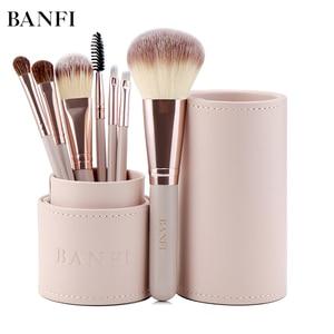 7PCs/set Makeup Brushes Kit Beauty Make up Brush set Concealer Cosmetic Pincel Blush Foundation Eyeshadow Concealer Lip Eye Tool