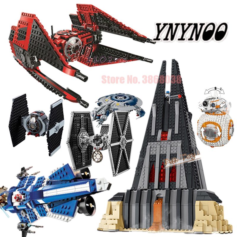 10900 StarWars  Compatible 75240 Legoinglys Imperial TIE Fighter Building Blocks Iconic Attack Craft Toys For Children