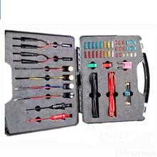 Conjunto de herramientas de reparación de circuito automotriz, conjunto de herramientas de detección de señal con luz de prueba de diodo, Cable de 1,5 m