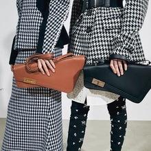 Koreański styl kobiet nieregularny kształt geometryczny torebka damska PU skóra torba na ramię moda osobowość torebka podsiodłowa tanie tanio Ameiliyar Torby na ramię Na ramię i torby crossbody CN (pochodzenie) Hasp SOFT Klapa kieszeni women bag Poliester Wszechstronny