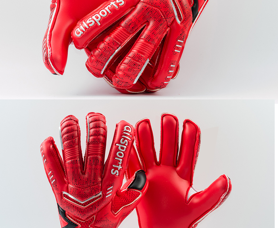 Professional Goalkeeper Gloves With Finger Protection 16