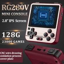 RG280V ANBERNIC Retro Tay Cầm Chơi Game Mở Sourse Hệ Thống CNC Vỏ PS1 Trò Chơi Người Chơi Di Động Bỏ Túi RG280 Chơi Game Cầm Tay
