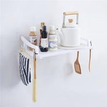 Bathroom Shelves for Wall Bathroom Adhesive Storage Rack Hooks Kitchen Spice Seasoning Shelf Organizer Plastic Rack Wall Storage andres neuman anatomía sensible